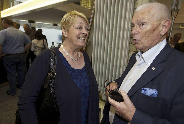 Annemie Neyts en 'Mr. Michel' Verschueren.