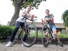 1300 kilometer in 8 dagen, Sjoerd (27) en Wessel (28) uit Enter gaan de uitdaging aan: 'Onze moeder zou trots zijn geweest'