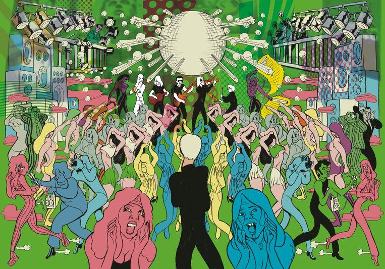 In oktober volgt bij Casterman de 'Andy Warhol'-biografie van Typex, die meteen in zes talen en dertien landen (waaronder de VS) zal verschijnen Beeld RV