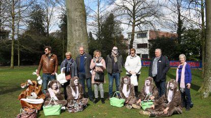 Paaseitjes rapen voor jong en oud in gemeentepark