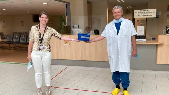 Ziekenhuis Rivierenland Tiel behandelt zeer droge ogen met een speciale 'traandruppels'