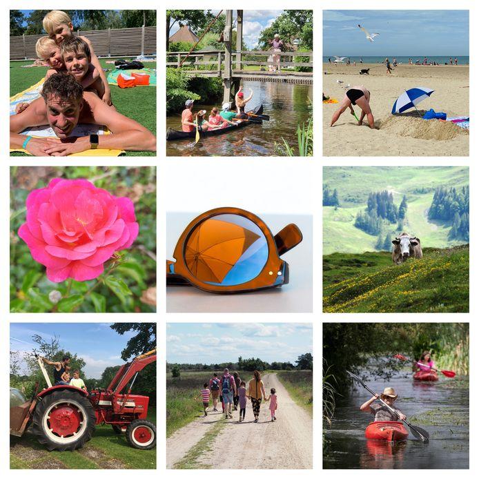Een selectie van zomerse foto's die ingezonden zijn voor de vijfde week van ED Zomerfoto 2020