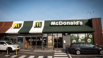 Drives van Belgische McDonald's restaurants morgen opnieuw open