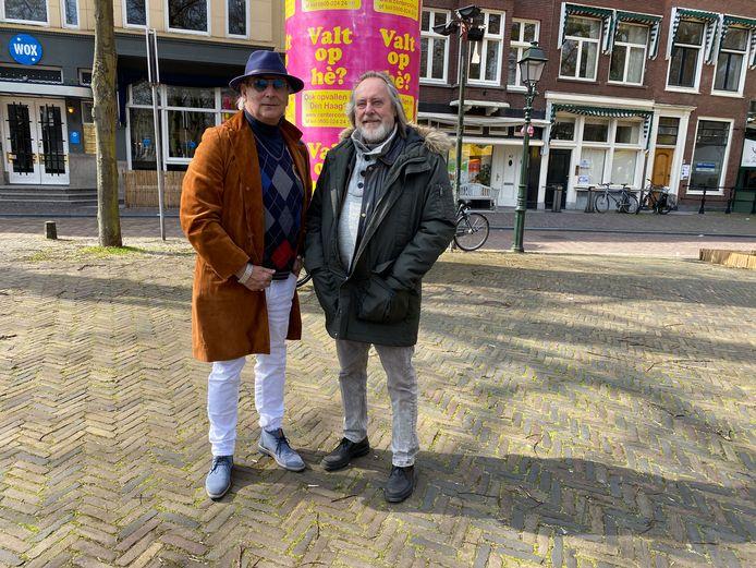 Martin Reitsma (l.) en Peter de Ronde zijn op zoek naar mooie beatplekken.