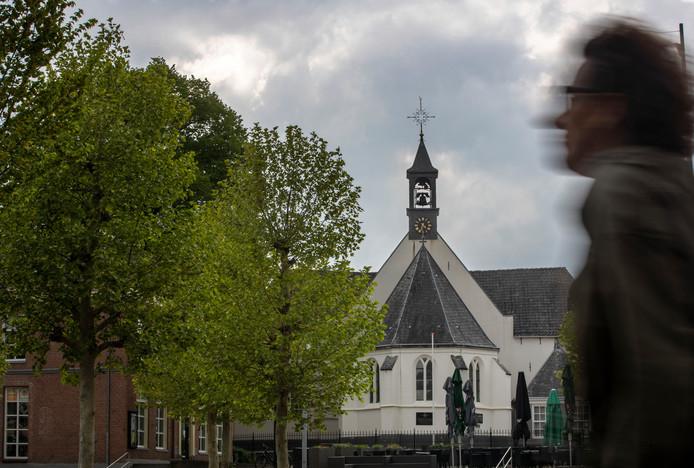 De hervormde kerk van Veenendaal.