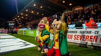 Boljevic verontschuldigt zich voor bal in gezicht van KVO-mascotte Kalle