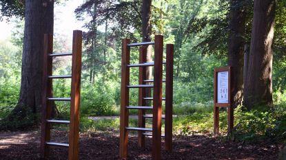 Fit-o-meter uit de 21ste eeuw in Heverleebos