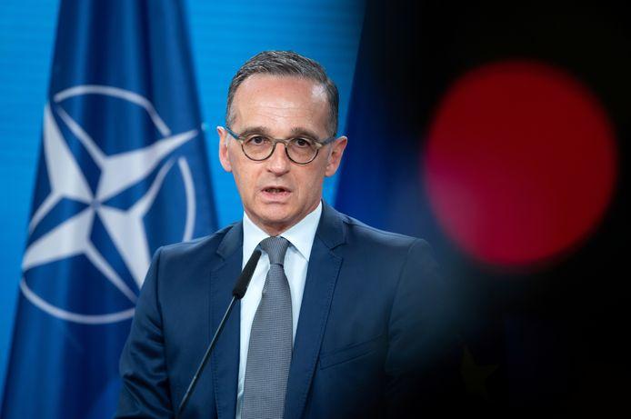 De Duitse minister van Buitenlandse Zaken Heiko Maas.