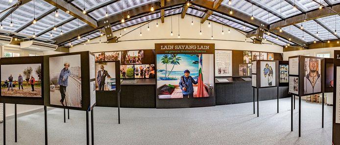 Een impressie van de expositie 'Lain Sayang Lain'.