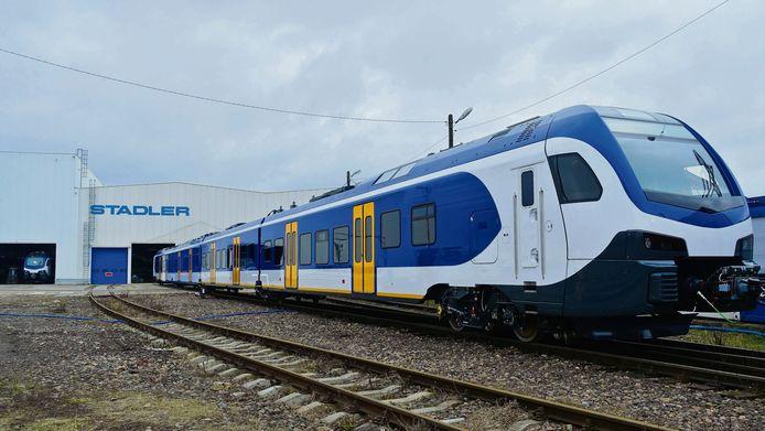 De nieuwe sprinter zou een metro-achtige dienstregeling moeten gaan rijden.