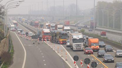 Dag vol verkeersellende op E17 door wegenwerken