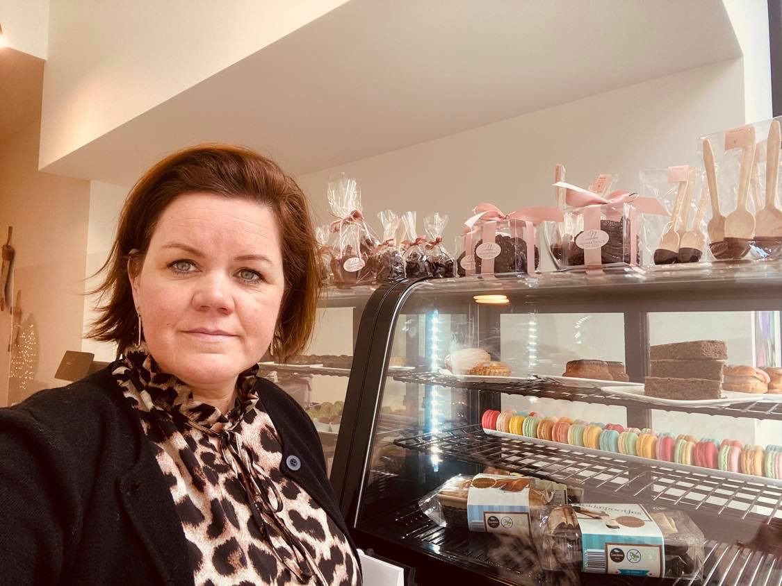 Marie Van Renterghem kampt zelf met een lactose- en glutenintolerantie en ervaart zo al jaren dat het zoeken naar geschikte producten een hele opdracht is.