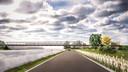 Zo moet de fietsbrug over de Ringvaart eruitzien.