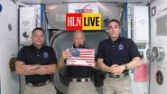"""HLN LIVE. Reisverslag van astronauten Crew Dragon: """"Het voelde alsof we vlogen met... een échte draak"""""""