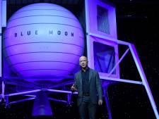 Amazon-topman presenteert maanlander: 'Ditmaal blijven we daar'