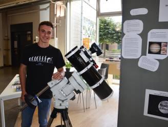 Joran (19), gepassioneerd door sterrenkunde en astrofotografie, zorgt voor 'Nacht van de Duisternis' in Ninove