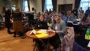 Sabrina (links) en Celine van Het Cambrium in Zaltbommel hadden een thuiswedstrijd