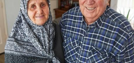 Diamanten paar Ahmet en Havva werd verliefd in Turkije