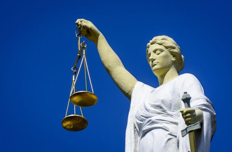 Vrouwe Justitia. Beeld ANP
