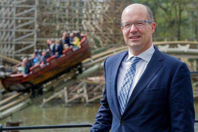 Fons Jurgens, directeur van de Efteling: ,,Heel veel mensen willen bij ons werken, maar je moet boven alles gastgericht zijn. Het moet je doel zijn om de bezoekers een onvergetelijke dag te bezorgen.''