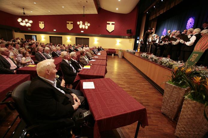 De grote zaal in gemeenschapshuis De Klepel.