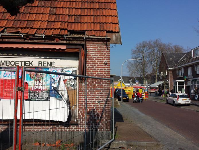 Het centrum van Rosmalen is hard toe aan een opknapbeurt. Veel gebouwen zijn verpauperd.