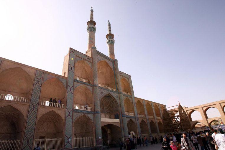 De Iraanse stad Yazd is een van de oudste steden van het land.