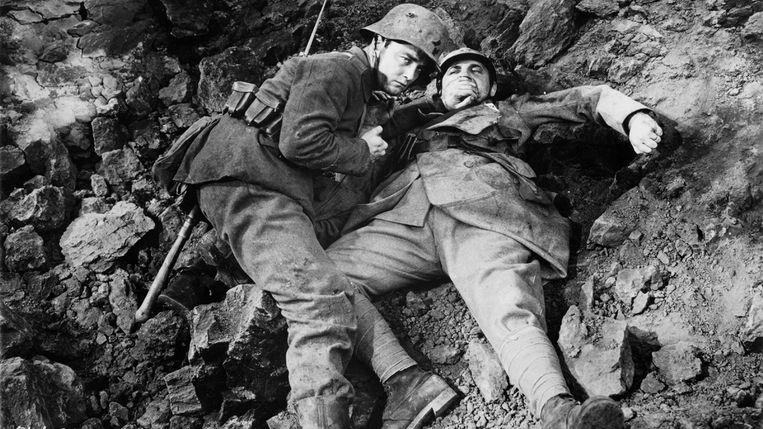 Filmbeeld van 'All Quiet on the Western Front'. Beeld