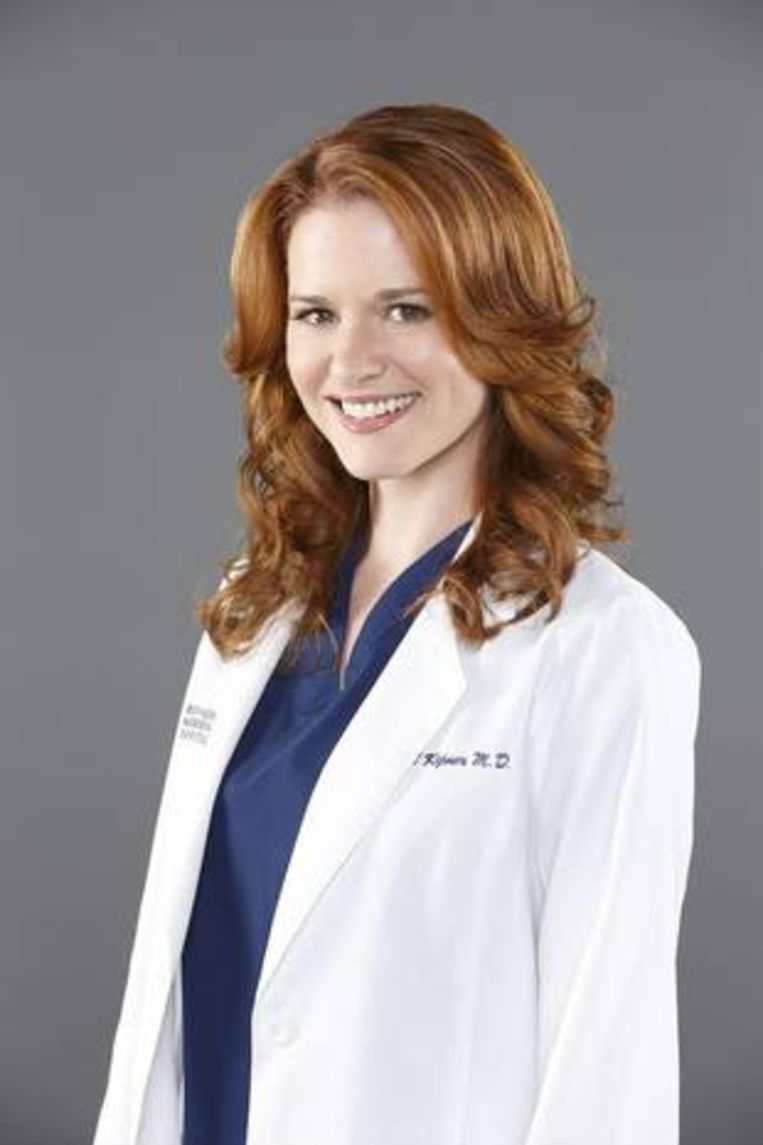 Sarah Drew als April Kepner.