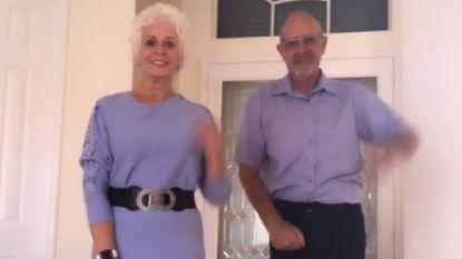 Té schattig: deze dansende grootouders toveren gegarandeerd een lach op je gezicht
