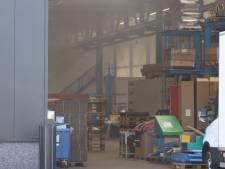 Drie gewonden bij brand op industrieterrein na explosie in Boxtel