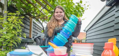 Tupperware is terug van heel even weggeweest in Zeeland: Kyra's kelderkast staat er vol mee
