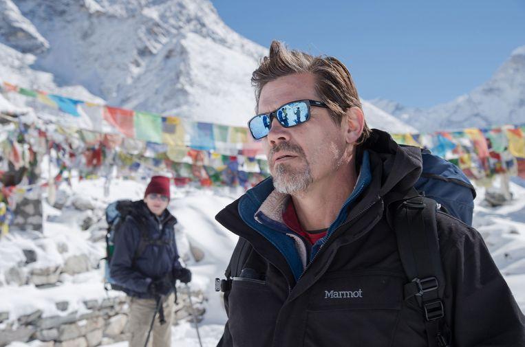 Josh Brolin als Beck Weathers in Everest. Beeld AP/Universal Pictures