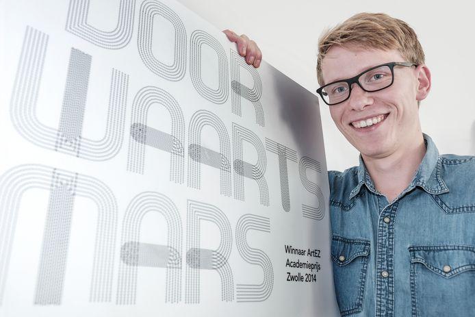 Ruben Stellingwerf wil met project Voorwaarts Mars het imago van muziekkorpsen veranderen.