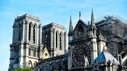 """Werken aan """"drie kwetsbare punten"""" in Notre-Dame om instorting te voorkomen"""