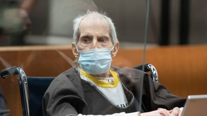 Amerikaanse miljonair Robert Durst (78) veroordeeld tot levenslang voor moord