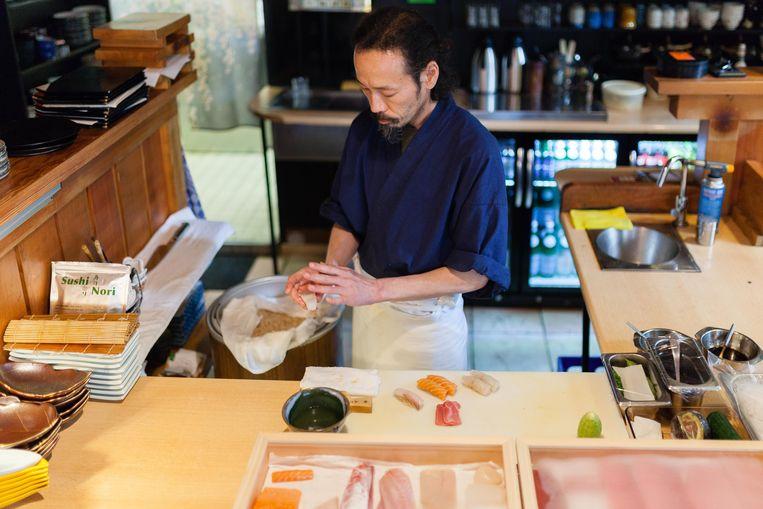 Japans restaurant Umeno. Beeld Nina Schollaardt