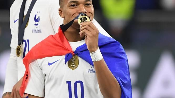 Frankrijk verslaat Spanje in spannende finale Nations League door veelbesproken goal Mbappé
