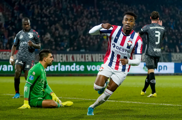 Mike Tresor Ndayishimiye heeft Willem II op 2-0 gezet tegen Sparta.