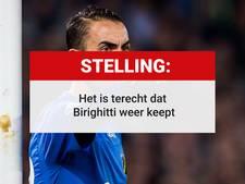 Stelling: 'Het is terecht dat Birighitti weer keept'