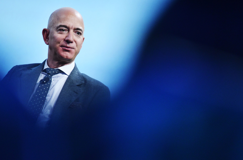 CEO Jeff Bezos.