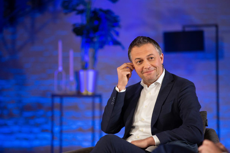 Open Vld-voorzitter Egbert Lachaert. Beeld BELGA