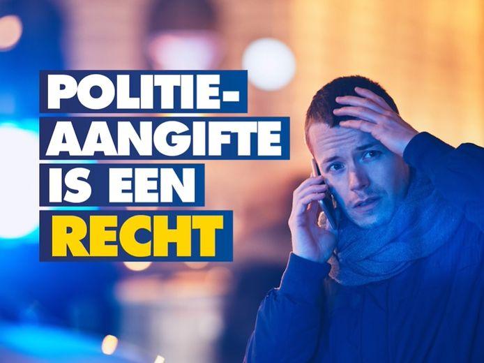 Een beeld uit de sociale mediacampagne van Vlaams Belang in Turnhout