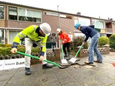 In Harderwijk worden gas- en waterhoofdleidingen tegelijk vervangen