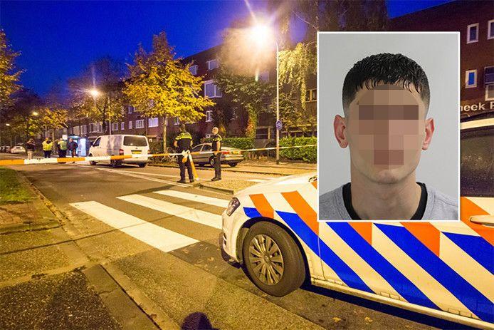 Azim A. wordt gezocht wegens zijn vermoedelijke betrokkenheid bij een schietpartij in Groningen.