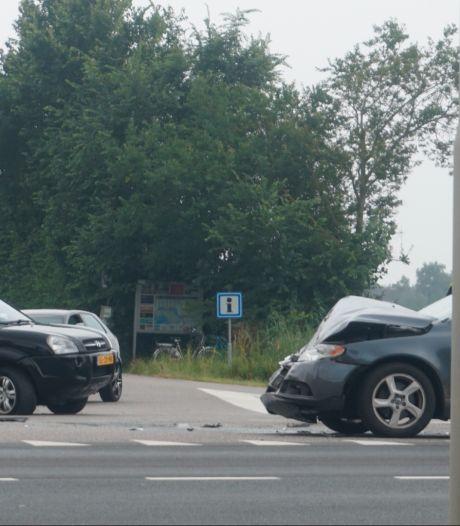 Gewonde bij botsing in Oosterland