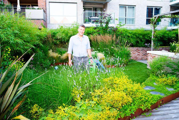 Jan Freeke: 'We wilden een geheime tuin en zo voelt het ook.' Beeld Marjolein van Damme