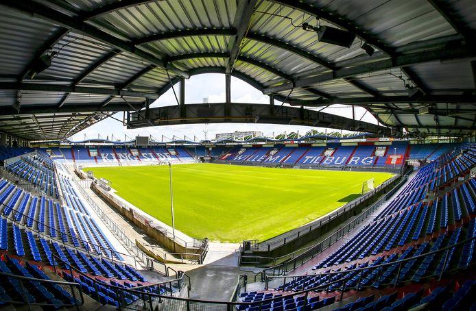 Het stadion van Willem II