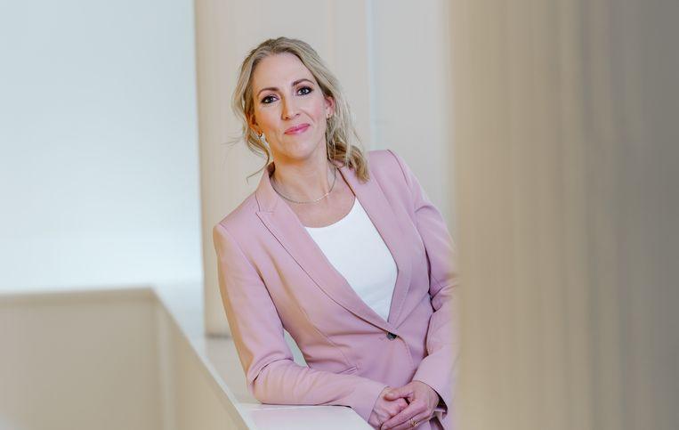 Lijsttrekker Lilian Marijnissen van de SP. Beeld Marco de Swart