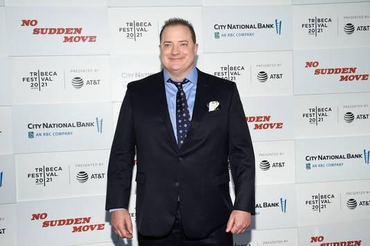 Brendan Fraser kwam behoorlijk wat kilo's aan voor een nieuw project, 'The Whale'.